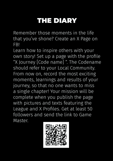 X Journey Game Card